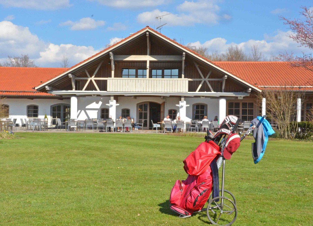 Schön gelegen: Das Clubhaus des Golf-Clubs Starnberg