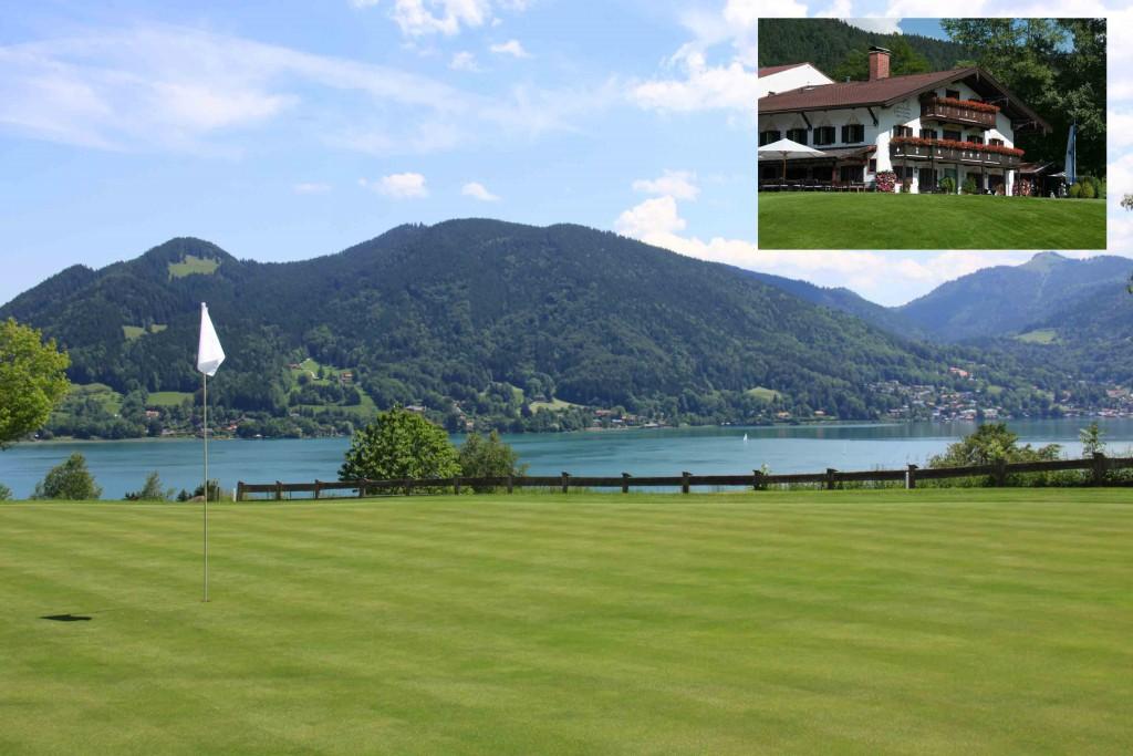 Traumhaft vor den Alpen und am Tegernsee gelegen: der Tegernseer Golf-Club Bad Wiessee e.V.