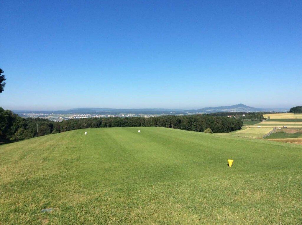 Nahe von Zürich: Der Golfplatz Golf Augwil