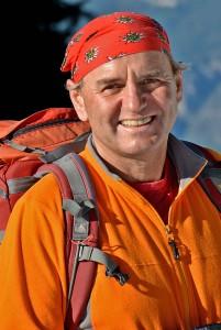 Manfred Scheuermann, Ressort Natur- und Umweltschutz beim Deutschen Alpenverein Foto: DAV