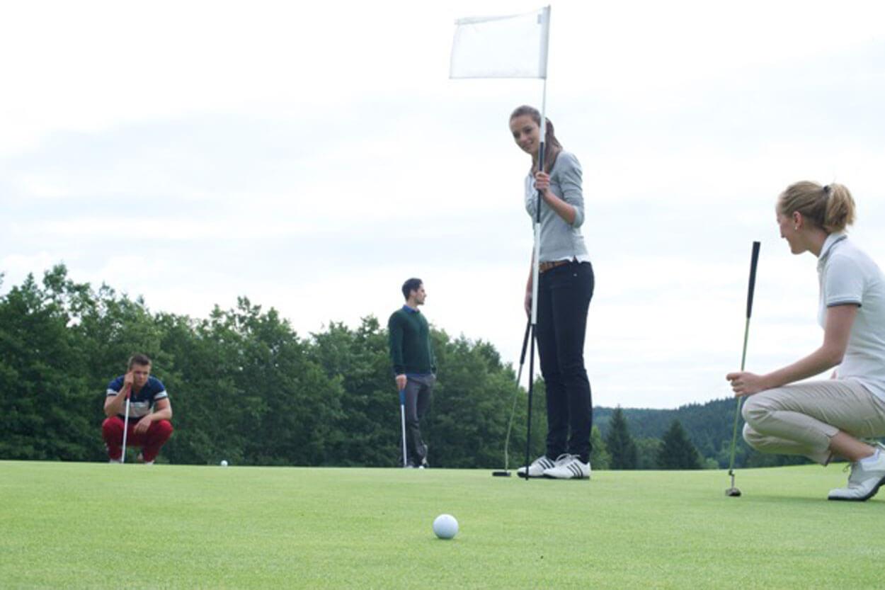 Golf-Erlebnistag