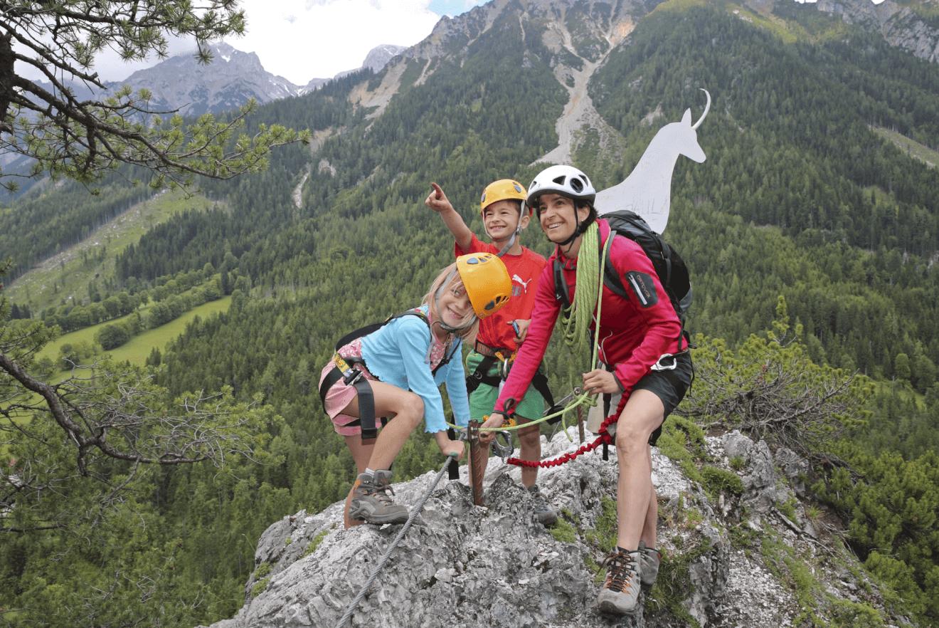 Klettersteig Kinder : Via ferrata dei colodri arco klettersteige