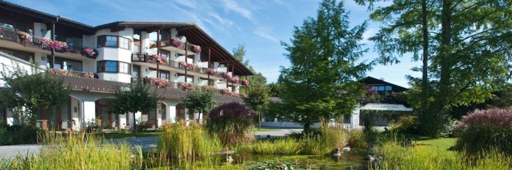 Eines der schönsten Hotels in Oberbayern: Das Hotel Alpenhof in Murnau